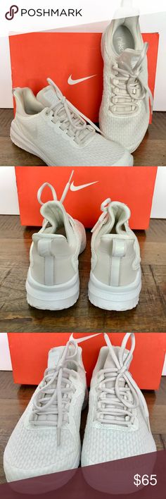 buy popular f99fa fb175 NWT in box Nike Renew Rival Sneaker Nike Women s Renew Rival running  sneakers. Summit white