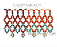 Resultado de imagen para free seed bead patterns and instructions