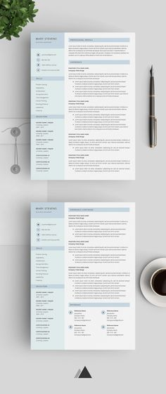 Professional Resume Template, Cover Letter for MS Word, Best CV - mechanical engineering resume template