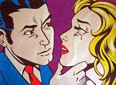 Roy Lichtenstein Emulation.