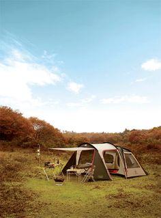Tent Camping in Chuncheon, Korea #camp #outdoor