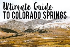 This is the ultimate guide to Colorado Springs' food scene – restaurants, bars, and breweries! As a bonus, this list includes recommendations for nearby recreation, hikes, sight-seeing, and shopping.