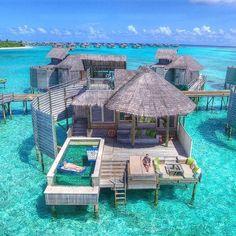 70 best honeymoon destinations in 2019 - Travel✈️ . - 70 best honeymoon destinations in 2019 – Travel✈️ - Best Honeymoon Destinations, Vacation Places, Dream Vacations, Travel Destinations, Maldives Honeymoon, Maldives Travel, Maldives Resort, Dream Vacation Spots, Honeymoon Ideas