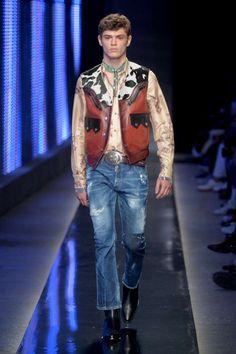 Male Fashion Trends: Dsquared2 Fall-Winter 2018-19 | Milan Fashion Week