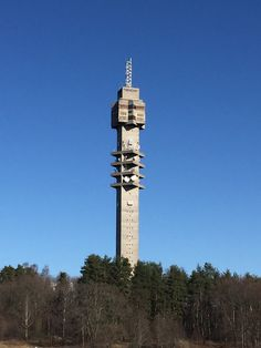Kaknästornet, Stockholm tv-tower, 155 meter high with the best view of Stockh...