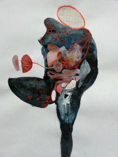 Harlinde De Mol - http://arthound.com/2012/10/artist-crush-harlinde-de-mol/