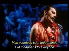 QUEEN - It's A Hard Life Queen Freddie Mercury, Killer Queen, Life Is Hard, Love Songs, Films, Shit Happens, Concert, Youtube, Movie Posters