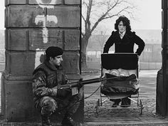 Troubles, Belfast 1974 by Nancy Moran