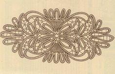 om point lace spets och adhd: Några bilder...igen! Romanian point lace designs.