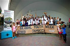Fantastic image sent in for Global Youth Week 2017 by RSCDS Jamaica Branch. #GYW #global #worldwide #jamaica #scottishcountrydance #rscds #youth #fitness #happy
