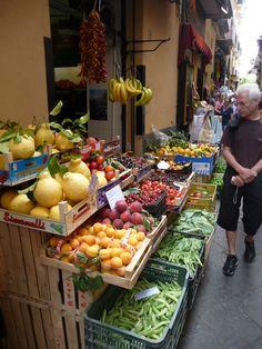 fruit in Sorrento, Amalfi coast, 2011, my photo