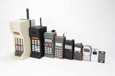 Los celulares... evolución.
