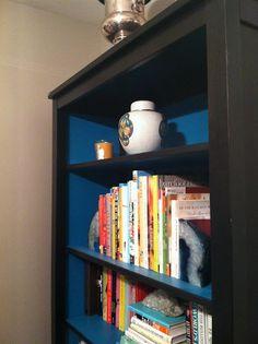 paint bookcase