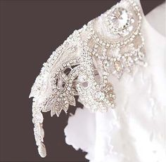 Inspirations, Carol Hannah Beaded Cap Sleeve Wedding Dress: DIY New York wedding of Jessica and Scott