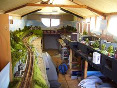 Inside the shed. - Amber-ton on sea. - Modellers' Galleries - RMweb