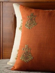 Indian home decor pillow covers #IndianHomeDecor