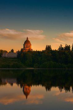 Olympia, Washington. Our state capital.
