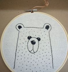 Hand Embroidered Image: £15.00
