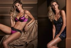 Gisele Bundchen Extremely Sexy For Her 'Intimates' Campaign Fall 2014 | FASHIONMG-STYLE