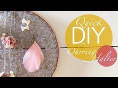 Quick DIY Ohrringhalter