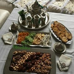 Moroccan tea time.. hospitality assured❤