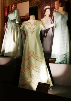 Hartnell designed dresses for the Queen