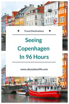 Travelling to Europe or within? Copenhagen, Denmark is a must see city. There is so much to see and do. Check out this amazing travel guide! #travel #traveldestinations #Europe #Denmark #travelguide #trips #planning #trips #holiday #getaway #vacation