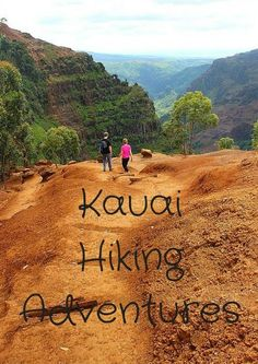With incredible scenery and mild temps, Hawaii really is a hiker's paradise. My Kauai Hiking Adventures turned out to be a big highlight of my time there. Kauai Hawaii, Oahu, Hawaii Hikes, Lihue Kauai, Hawaii 2017, Kauai Vacation, Hawaii Honeymoon, Vacation Trips, Vacation Places