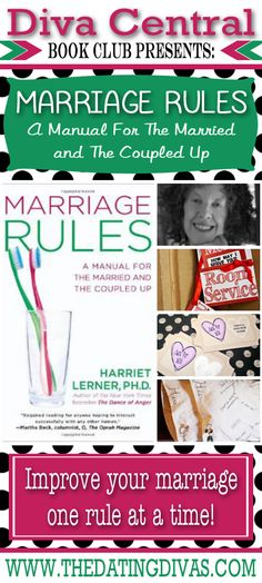 Amazing book all about rules to apply in marriage! Great advice! www.TheDatingDivas.com