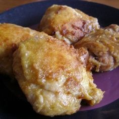 """Amish Baked Chicken (tastes fried). I'll have to try this out. I've made baked """"fried"""" chicken before and had it come out delicious."""