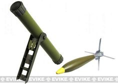 Hakkotsu Hades Arrow Airsoft Mortar by APS Airsoft, Airsoft Guns, Grenade Launchers - Evike.com Airsoft Superstore