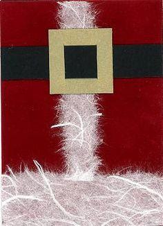 ... bit of Christmas Fun - Santa ATC, Cards and Celtic Tree Ornament