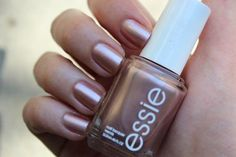 Essie Buy Me A Cameo A great metallic neutral and it also pairs amazingly with gold glitter tips