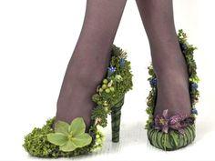 Цветы у ваших ног: оригинальная обувь с цветочным декором - Ярмарка Мастеров - ручная работа, handmade