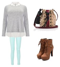 """""""Untitled #854"""" by fashion-cdlii ❤ liked on Polyvore featuring Studio 8 and Tamara Mellon"""