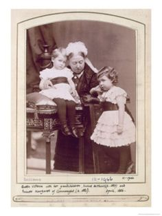 Queen Victoria with Arthur and Margaret of Connaught
