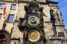 The Prague Astronomical Clock (Prague Orloj), a medieval astronomical clock located in Prague, the capital city of the Czech Republic. Installed in it's the only one still working in the world. Prague Astronomical Clock, Church Of Our Lady, Prague Travel, Prague Czech Republic, Heart Of Europe, Old Town Square, Prague Castle, National Cemetery