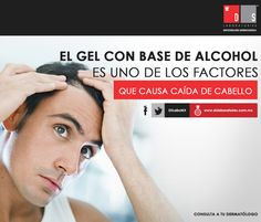 Un #DSTip para ellos: el gel con base de alcohol es uno de los factores que causa caída de cabello. Cuida tu cabello con DS Laboratories, no lo pierdas. Smart Watch, Fitbit, Alcohol, Base, Hair Falling Out, Factors, Fur, Health, Men