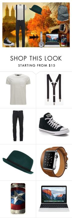 """Percabeth Music? - 2 Temporada Cap. 12"" by thaliasalvatore ❤ liked on Polyvore featuring Belstaff, Express, Paul Smith, Converse, River Island, Vans, men's fashion and menswear"