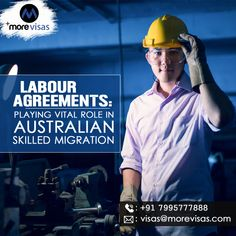 Labour Agreements: Playing Vital Role in Australian Skilled Migration Australia Immigration, Work Visa, The Past, Play