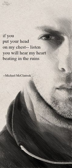 Tanka poem: if you -- by Michael McClintock.