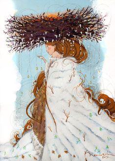 Просмотреть иллюстрацию Капель из сообщества русскоязычных художников автора Паша Клементьев в стилях: 2D, Графика, Персонажи, нарисованная техниками: Акрил, Графика.