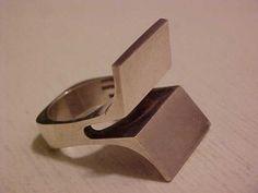 MOLTKE Sterling Ring, Denmark 1960's