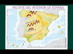 El relieve de España - YouTube