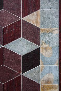 V Museum of Childhood, tile pattern