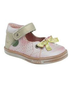 Take a look at this Pink Trinity Ankle-Strap Shoe - Kids by Kickers on #zulily today!