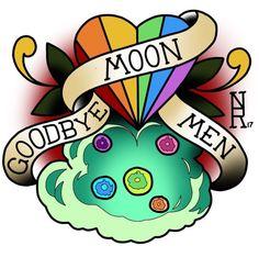 Rick and Morty x Goodbye Moon Men