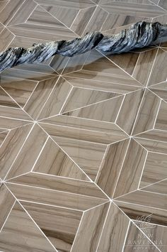 Truman stone waterjet mosaic in polished Driftwood   New Ravenna