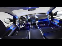 2013 Ford Atlas Concept Dashboard