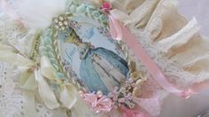 Marie Antoinette Collage Book  French  by underthenightmoon, $75.00